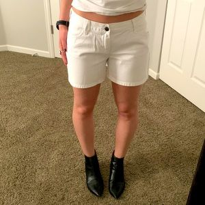 Old Navy relaxed White Jean Shorts